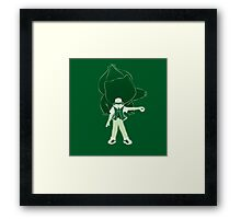 I Choose You - Green! Framed Print