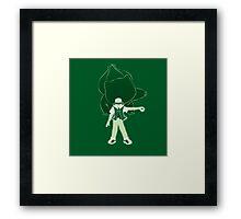 I Choose You - Green! Framed Print
