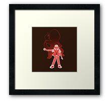 I Choose You - Red! Framed Print