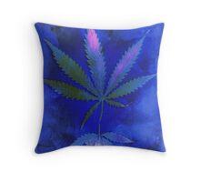 Hemp Lumen #2  Marijuana, Cannabis Throw Pillow