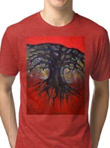 Red Tree Tri-blend T-Shirt