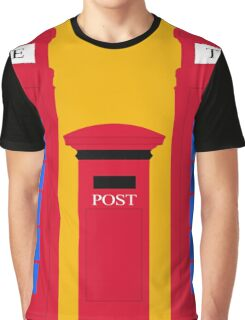 POST & TELEPHONE Graphic T-Shirt