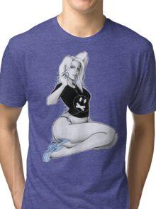 DJ Storm Girl 2 Tri-blend T-Shirt
