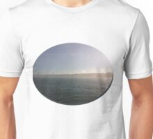 Mysterious day near the water Unisex T-Shirt