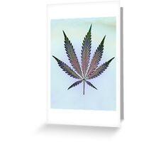 Hemp Lumen #7   Marijuana, Cannabis Greeting Card
