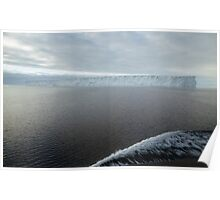 Iceberg in the Ross Sea Antarctica Poster