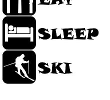 Eat Sleep Ski by kwg2200