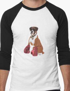 Boxer Dog Men's Baseball ¾ T-Shirt