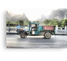 Farmers Truck Canvas Print