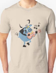 Cute Little Singing Bull!!! T-Shirt