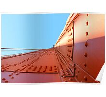 Golden Gate Iron by Ernie Dickey Poster
