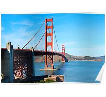 Golden Gate By Ernie Dickey Poster