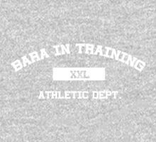 Bara in Training Tee white text by Astrotoast