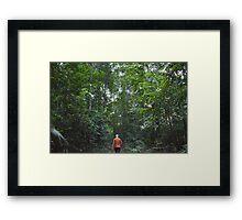 Jungle Trek Framed Print