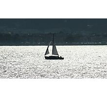Sailing Day by Ernie Dickey Photographic Print