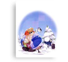 Happy Snowdown! Canvas Print