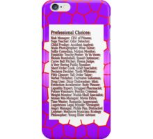 Pro Choice iPhone Case/Skin