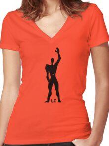Modulor Le Corbusier Architecture T shirt Women's Fitted V-Neck T-Shirt