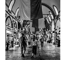 Inside The Grand Bazaar Photographic Print