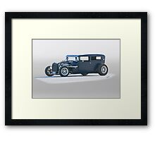1929 Ford Victoria 'Satin Doll' Sedan Framed Print
