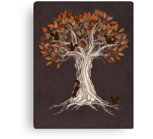 Little Visitors Canvas Print