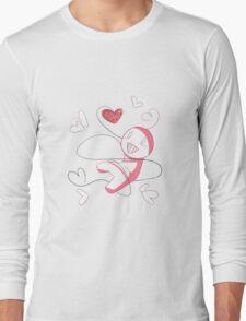 Cry Plays the Heart Long Sleeve T-Shirt