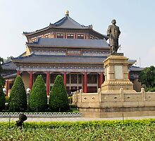 Sun Yat-sen Memorial Hall in Guangzhou by dozzam