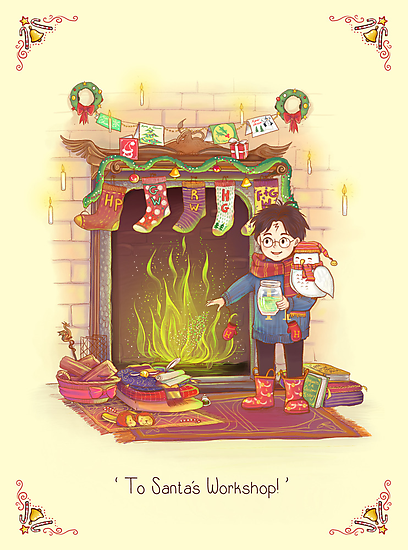 Take the Floo To Santa's Workshop! by AliciaMB