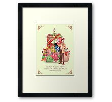 The best present in all of space and time Framed Print