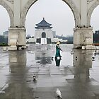 Chiang Kai-Shek Memorial Hall - Taiwan by Robyn Lakeman