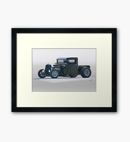 1932 Ford Rat 'Brute Force' Rod Pickup Framed Print