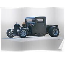 1932 Ford Rat 'Brute Force' Rod Pickup Poster
