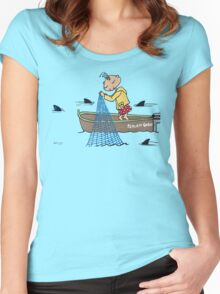Wildago's Edmund in a Boat Women's Fitted Scoop T-Shirt