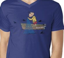 Wildago's Edmund in a Boat Mens V-Neck T-Shirt