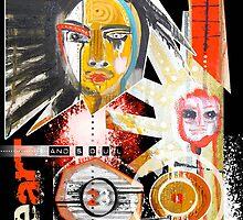 yellow bruxa by arteology
