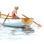 Gone Rowing by Louise De Masi
