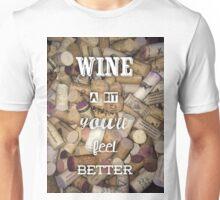 Wine a bit Unisex T-Shirt