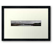 Mists over Mussel Bay Framed Print