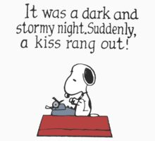 Snoopy - A kiss rang out by LanFan