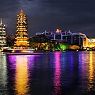 Night lights of Guilin by Robyn Lakeman