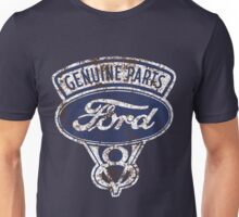Oil Stained Ford Sign Unisex T-Shirt