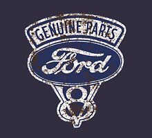 Oil Stained Ford Sign T-Shirt
