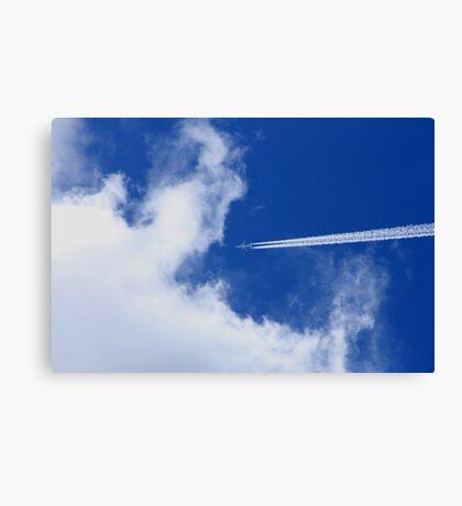 Airline  Canvas Print