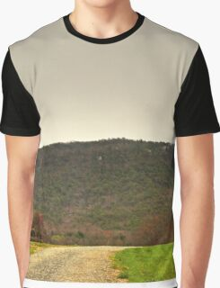 Pilot Mountain HDR Graphic T-Shirt