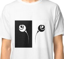 set of black and white rose Classic T-Shirt