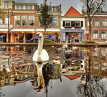 old Delft Holland... 6..the Swan's point of view 2 by John44