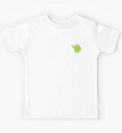 Android vs apple Kids Tee