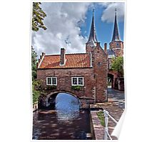 ...Autumn in old Delft Holland... 7 Poster
