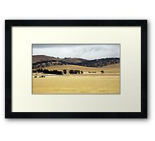 Rural South Australia Framed Print