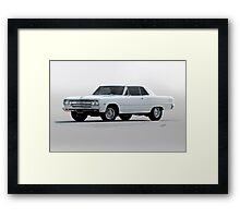 1965 Chevelle Malibu 'Pumped 283' Framed Print